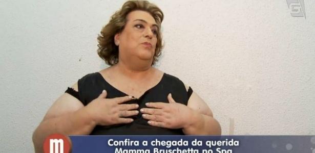Já em spa, Mamma Bruschetta revela receio de morte por causa de obesidade