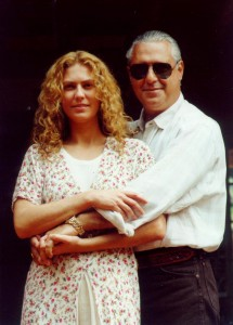 Bruno Mezenga (Antonio Fagundes) e Luana (Patricia Pillar)