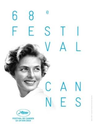 Ingrid Bergman estampa cartaz do Festival de Cannes