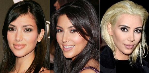 Kim Kardashian levou 4 horas e gastou US$ 500 para platinar os cabelos