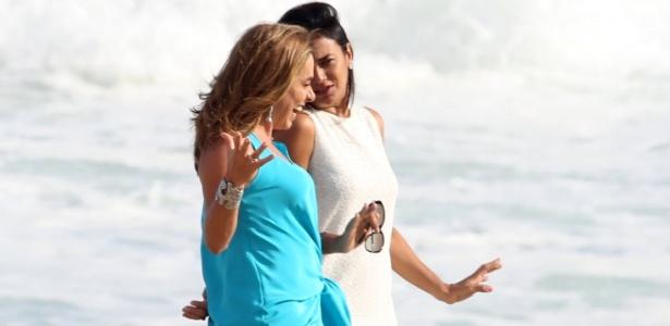 """Cissa Guimarães grava novo quadro para o """"Vídeo Show"""": """"Me emocionei muito"""""""