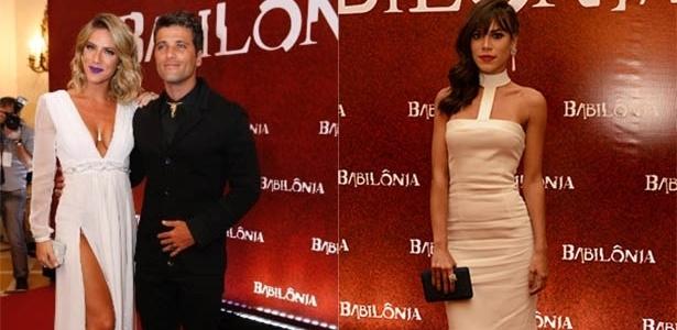 """Ewbank diz que não terá ciúmes de cenas de Bruno com cunhada em """"Babilônia"""""""