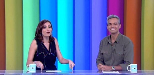 """Novo """"Vídeo Show"""" estreia ao vivo e com Monica Iozzi em bancada"""