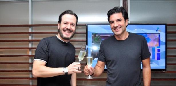 Celso Zucatelli e Edu Guedes assinam com a Rede TV!