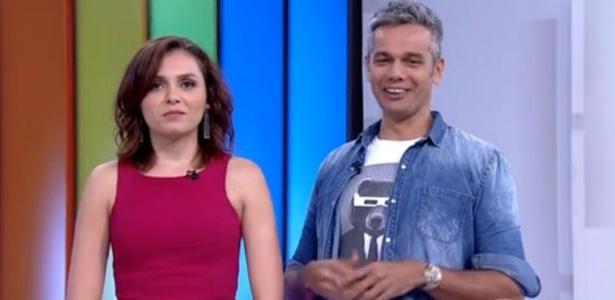 """Otaviano Costa realiza """"sonho"""" e imita Silvio Santos ao vivo na Globo"""
