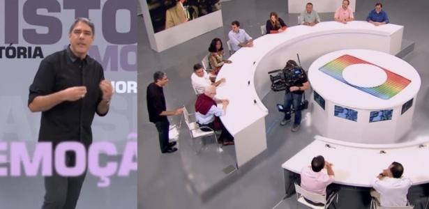 """""""JN"""" reúne jornalistas em especial e público sente falta de Cid Moreira"""