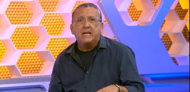 Galvão Bueno revela que torce para o Flamengo