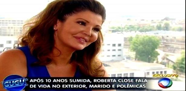 """Roberta Close diz que ator se negou a beijá-la na TV: """"Ia denegrir imagem"""""""