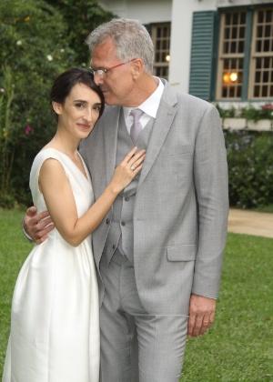 Casamento de Pedro Bial e Maria Prata reúne famosos em Petrópolis