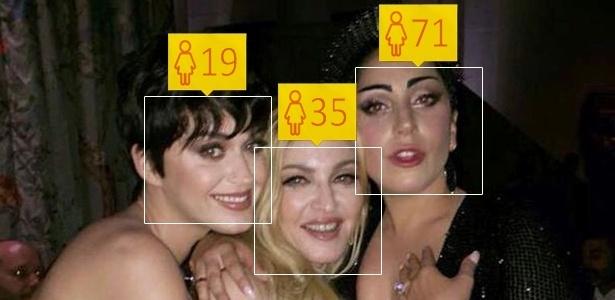 App que desvenda a idade mostra que famosos precisam do dermato da Madonna