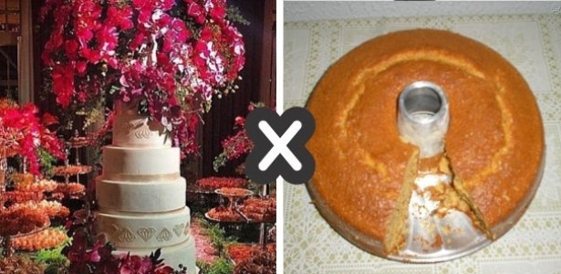 Jogo dos 7 erros: Casamento da Preta Gil x casamento da vida real