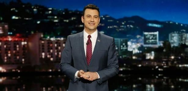 Jimmy Kimmel sugere que seu público assista ao último programa de Letterman