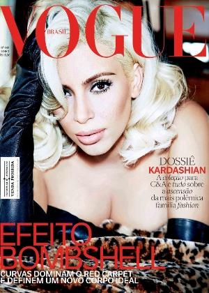 """""""Desafio qualquer mulher a fazer o que faço"""", diz Kim Kardashian à """"Vogue"""""""