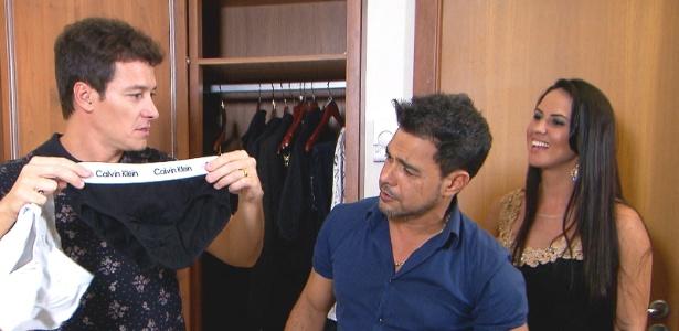 """""""Tenho muito respeito por Zilu"""", diz namorada de Zezé na TV"""
