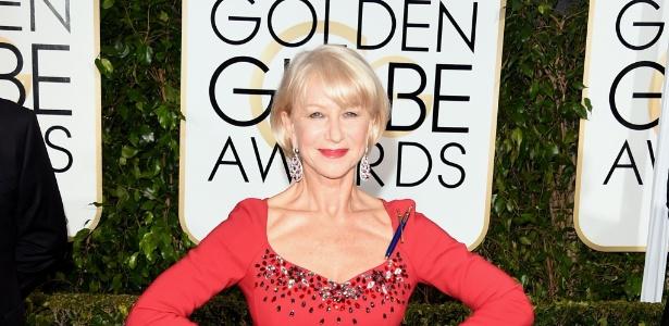 Helen Mirren diz que teme perder trabalhos em Hollywood por sua idade