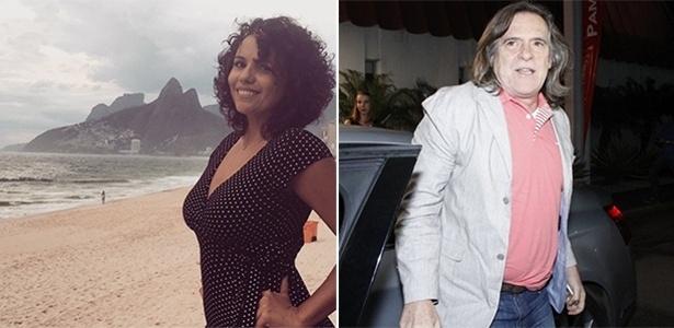 """Ator Zé de Abreu está namorando Dadá Coelho, humorista do """"Amor & Sexo"""""""
