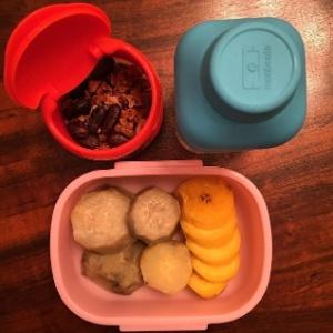 Frutas ou salgadinhos? Famosos contam o que põem na lancheira dos filhos