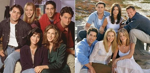 """Netflix vai exibir todas as 10 temporadas da série """"Friends"""""""