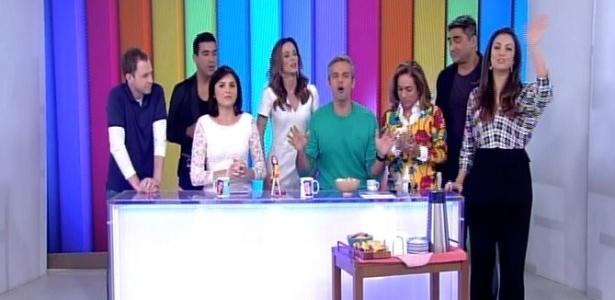 """Apresentadores do """"É de Casa"""" se reúnem pela 1ª vez na TV antes da estreia"""