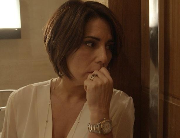 """Em """"Babilônia"""", Beatriz ouve tiro e tem certeza de que Evandro está morto"""