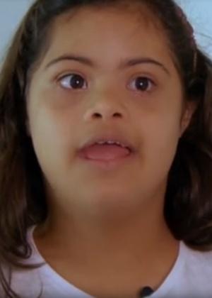 """Filha de Romário participa de série sobre síndrome de Down do """"Fantástico"""""""