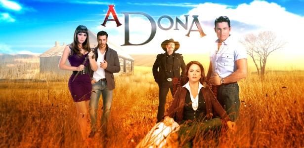 """SBT anuncia estreia da novela """"A Dona"""", com Gabriela Spanic como vilã"""