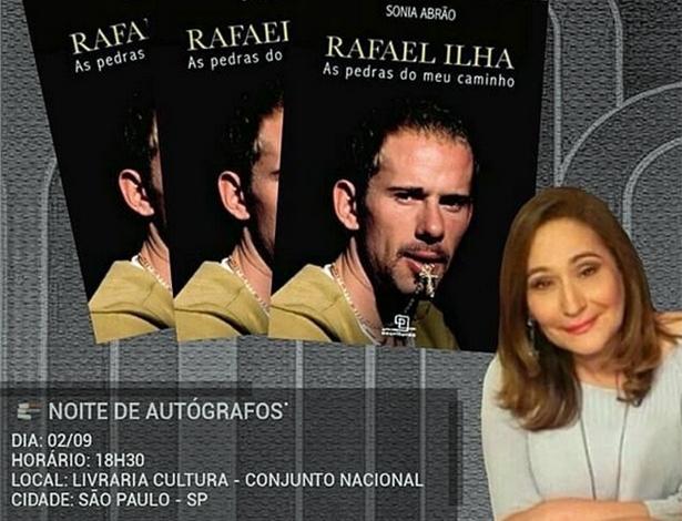 Autora de biografia, Sônia Abrão diz não saber como Rafael Ilha está vivo