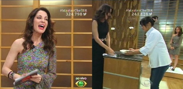 "Ana Paula Padrão e jurados repetem figurinos na final do ""MasterChef"""