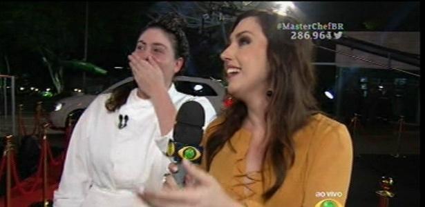 """Izabel Alvares é a campeã da segunda temporada do """"MasterChef"""""""