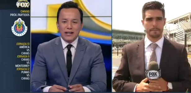 Repórter do FOX Sports é atropelado durante transmissão ao vivo