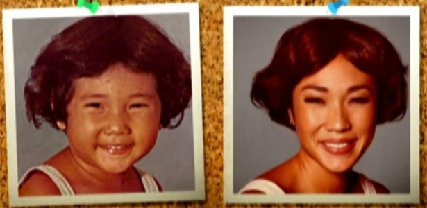 """Suzuki reproduz foto: """"Minha mãe quis fazer meu cabelo igual do Zacarias"""""""