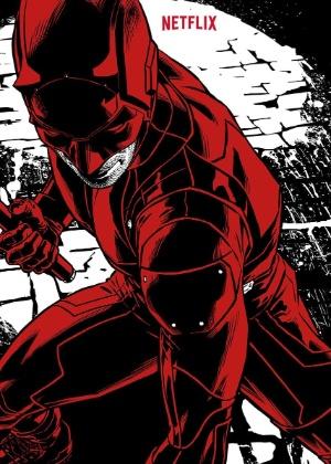 """Pôster da nova temporada de """"O Demolidor"""" traz herói com uniforme vermelho"""