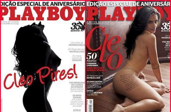 Cleo Pires foi a última grande estrela de Playboy