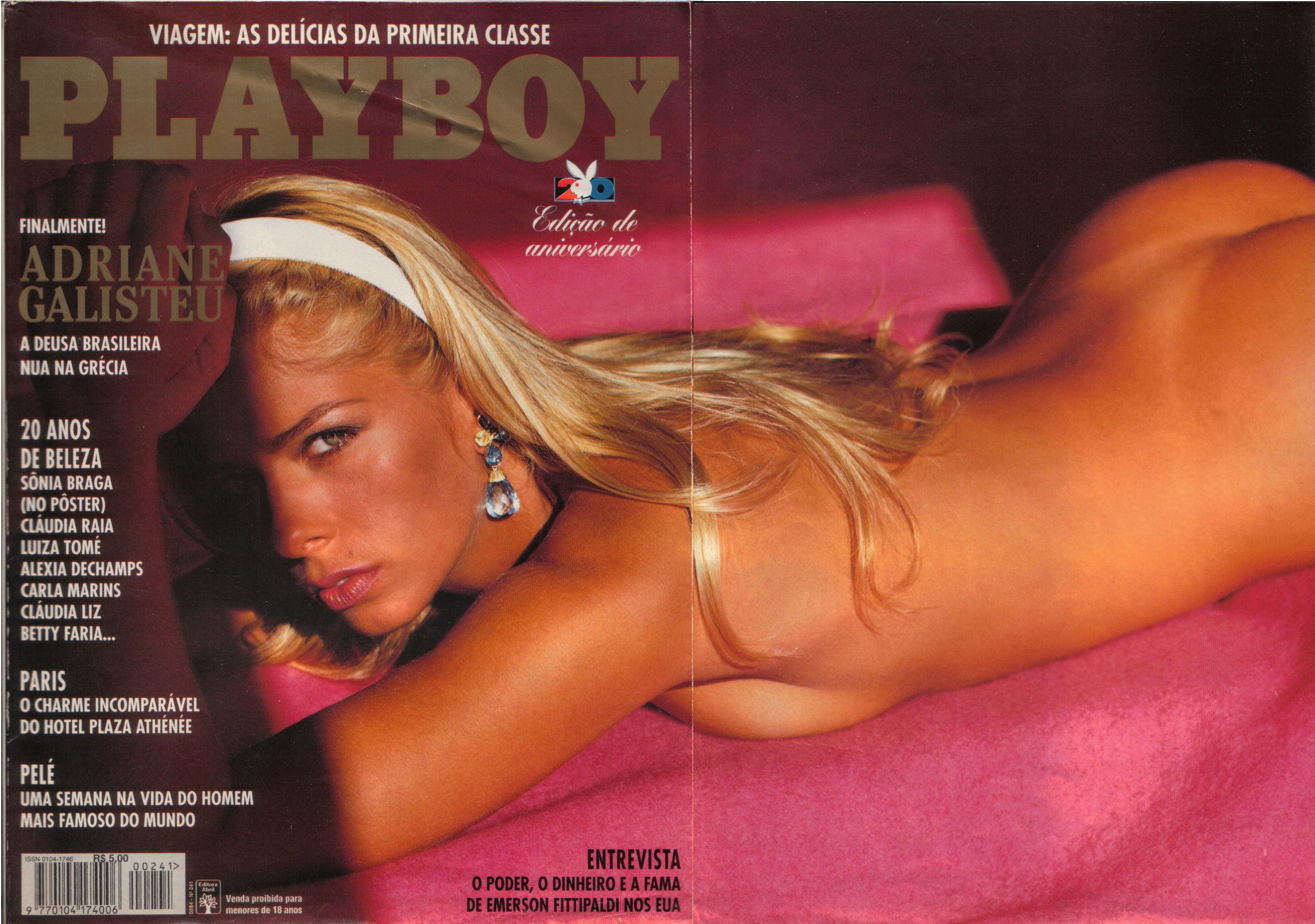 Adriane Galisteu bateu o recorde de vendas em 1995
