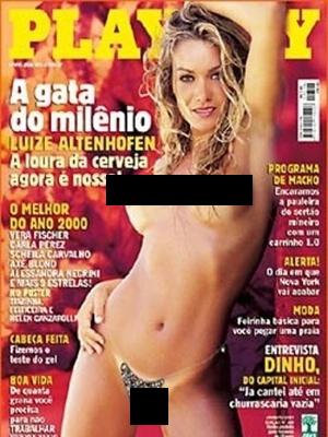 Luize Altenhofen é uma das mulheres mais bonitas que saiu em Playboy