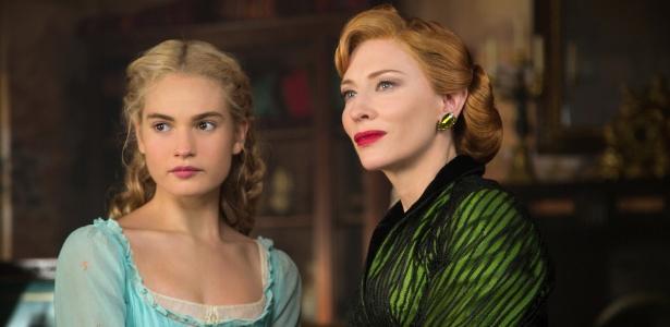 """""""Cinderela"""", da Disney, lidera as bilheterias internacionais"""