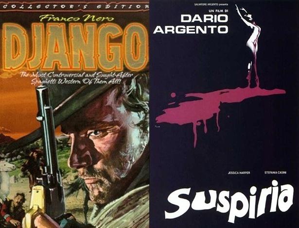 """Clássicos italianos, filmes """"Django"""" e """"Suspiria"""" serão adaptados para a TV"""