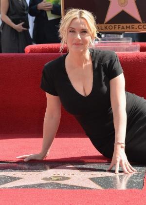Atriz Kate Winslet revela estratégia para estimular autoestima dos filhos