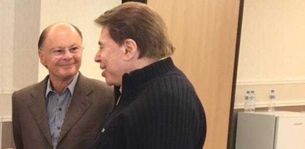 """""""Devemos puxar o barco juntos"""", diz Silvio Santos para Edir Macedo"""