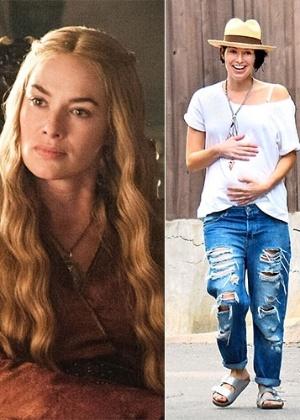 """Nasce segunda filha de Lena Headey, a Cersei Lannister de """"Game of Thrones"""""""