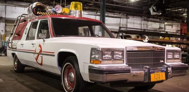 """Diretor revela primeira imagem do carro do novo """"Caça-Fantasmas"""""""