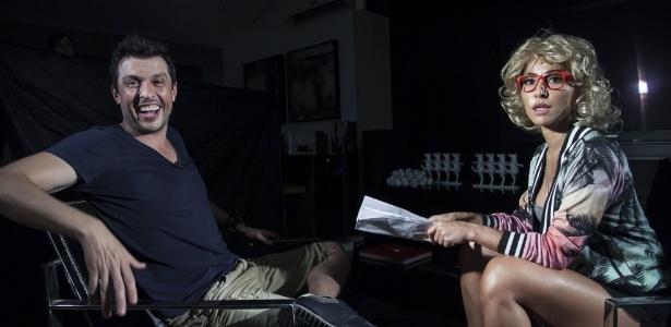 Imitando Gabi, Ceará se lança como apresentador de programa de auditório