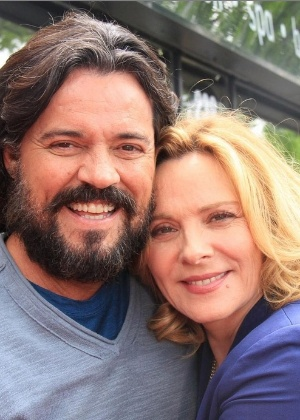"Felipe Camargo grava série com Kim Cattrall, ex-""Sex and the City"""