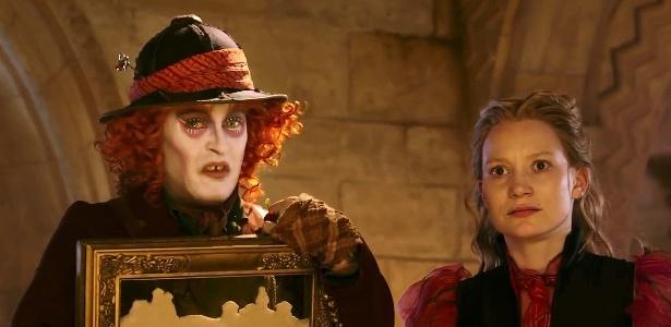 """Em trailer de """"Alice Através do Espelho"""", Chapeleiro perde a """"insanidade"""""""