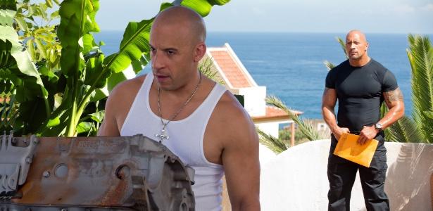 The Rock teve problemas com Vin Diesel nas gravações de filme, diz site